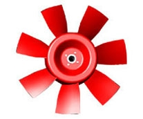 Aluminum impeller series
