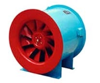 SWF mixed flow fan