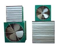 Square wall-mounted fan