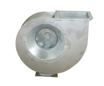 Stainless steel centrifugal fan