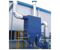Pulse cartridge dust collector