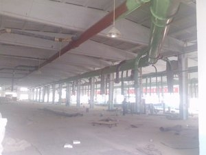Double Happiness Furniture Co. plant in Qingzhou pipeline installation instance