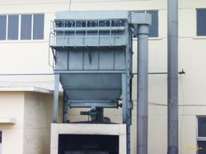Pulse precipitator installed instance of Qingdao Zhang Machinery Co., Ltd.